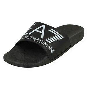 1c0cfa8f35a7 Emporio Armani 905012 8P215 Sea World Slippers EA7 Mens Sliders Red Beach  Shoes