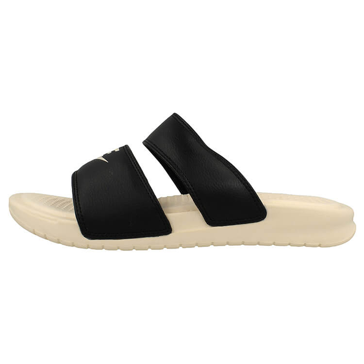819717-004 Nike Benassi Duo Ultra Black Beige Womens Slide