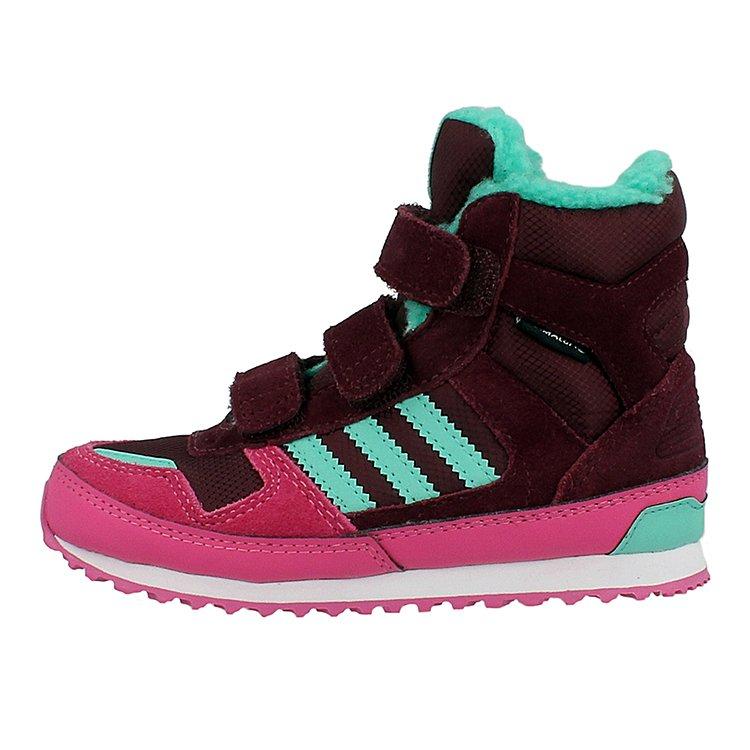 Dziecięce Adidas ZX Winter Cf I Granatowy Niebieski Zielony