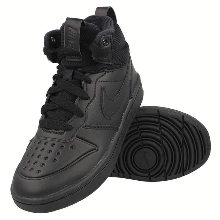 Nike Court Borough Mid 2 Boot Bq5442 001 Buty Dzieciece Za Kostke Oryginalne Obuwie W Squareshop Pl