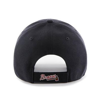 Czapka 47 Brand Atlanta Braves B-MVP01WBV-RA