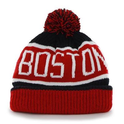 Czapka zimowa 47 Brand Boston Red Sox