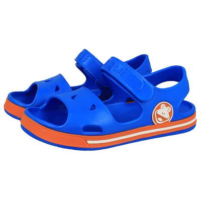 Sandały Coqui 8852 Sea Blue/ Dark Orange